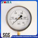 Exatidão 1.0% dos calibres de pressão 1MPa da resistência de choque com a linha M20*1.5 IP65 do diâmetro 6 Inch/150mm