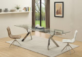 На заводе мебель индивидуальные продление стеклянный обеденный стол для дома