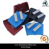 Segments de meulage HTC Quick Lock 2 bar pour meuleuse de plancher