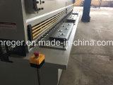 Diseño hidráulico de la guillotina de la máquina de la hoja de metal que pela