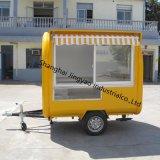 販売のための移動式オートバイの食糧カートかオートバイの食糧ヴァンまたはオートバイの食糧トレーラー