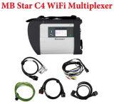 Мб Star C4 МБ SD подключение 4 Compact 4 без новейшее программное обеспечение жесткого диска и мультиплексор Vediamo Star диагностического прибора