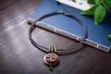 De uitstekende Lange Halsband van de Tegenhanger van het Ontwerp van de Boom van Juwelen Houten voor Vrouwen