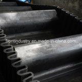 Nastro trasportatore ondulato del muro laterale utilizzato su industria di cemento
