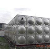 Tipo aparafusado tanque de água do aço inoxidável