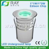 IP67 Couleur Unique/RGB 3dans1 LED Lampe souterrain