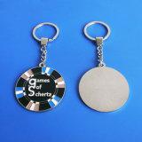 Customzied Round Keychain Games von Schertz Zinc Alloy Keychain