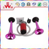 12V Pink Spiral Auto bidirezionale Electric Horn Speaker