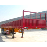 La pared lateral desmontable Tri-Axle alto muro tráiler
