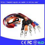 Hotsales Lanyard USB Flash Disk, USB Flash Pen Drive