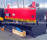 macchina idraulica delle cesoie di taglio di strato del acciaio al carbonio di 6mm