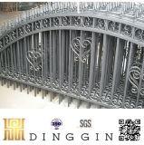 錬鉄の塀およびゲート