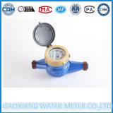 Contador del agua seco de jet de la rueda multi de la paleta en la fábrica de China