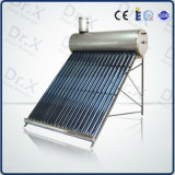 bobina de cobre del sistema de calentador de agua solar Pre-Heated presurizado