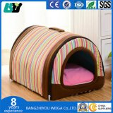 애완 동물 귀여운 개 침대 집 인쇄 애완 동물 침대