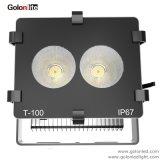 高品質のスポーツの洪水の照明市民の穂軸110lm/W 15 30 60程度150W屋外LEDのフラッドライト