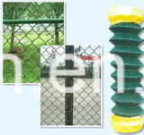 Frontière de sécurité galvanisée à chaud en gros de maillon de chaîne