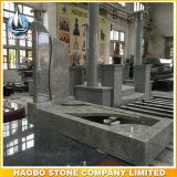Lapide europea di stile della pietra tombale del granito