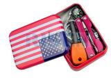Личный военной катастрофы Survival Kit инструмент Тин для кемпинга