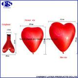 Latex Van uitstekende kwaliteit van de Ballon van de Levering van China het Hart Gevormde
