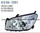 トヨタRAV4 2006-2008年の車のための自動車の付属品のヘッドランプ。 #OEM: 81150-0r030/81160-0r030