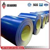 Alluminio di alluminio della bobina ricoperto colore superiore di Ideabond