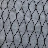 接続されたか、またはねじられるか、またはHand-Wovenまたは織り交ぜられたか、または結ばれたステンレス鋼ワイヤーケーブルかロープの網