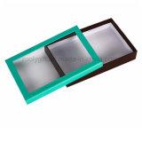 Personnaliser la boîte en carton rigide avec le guichet clair de PVC