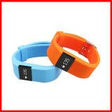 Bluetooth 4.0 Pulser Intelligente Slimme Horloge van het Silicone van de Activiteit