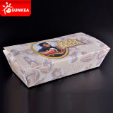 Square Fish and Chips cajas de papel