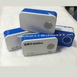 Generatore portatile dell'anione del purificatore dell'aria di Ionizer del generatore dell'ozono con la Banca di potere