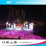 P4.81mm Affichage LED de location de plein air pour des événements