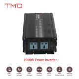 2000 чисто инверторов с дистанционным управлением, солнечный инвертор -Решетки волны синуса 2000 ватт 24 DC вольта к AC 220 вольтов