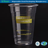 Wegwerfplastikcup mit kundenspezifischem Firmenzeichen