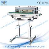 Máquina de selagem de fita vertical de tipo contínuo com Ce