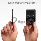 Téléphone de carte moins coûteuse de 1,69 pouces avec Bluetooth et Quad-Band (E5)