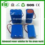 O bloco de venda quente da bateria do Li-íon do bloco da bateria recarregável personalizou 18650 a capacidade 2.2ah-200ah da tensão 3.7V/7.4V/11.1A/14.8V/24V/36c/48V do bloco da bateria