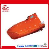 Barco salva-vidas livre da queda da fibra de vidro aprovada do SOLAS com certificações