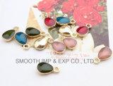 Venda por grosso de liga de moda pendente de bricolage Dom Multicolor Acessórios de jóias de prata