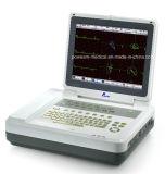 12.1 Duim 12 de Machine van het ELECTROCARDIOGRAM van de Elektrocardiograaf ECG van het Kanaal met Ce, ISO- Certificaat (EM1200)