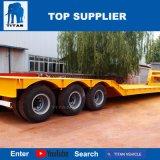 Titan Lowboy remorque 6 essieux de 100 tonnes chargeurs faible Lowbed remorque Remorque Dolly pour la vente
