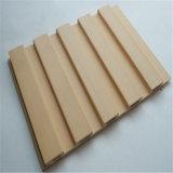 Panneau composé en plastique en bois WPC de panneau de mur rideau