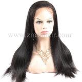 매끄러운 똑바른 브라질 머리 레이스 정면 가발