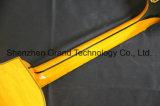 Semi полых элементов кузова желтый Tailpiece Джаз Es 335 325 345 L5 электрическая гитара (TJ-281)