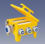 24 caselle a tenuta d'acqua di potere del contenitore di zoccolo dei moduli IP66/casella di distribuzione