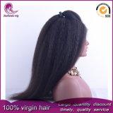 Kinky droites/Yaki vierge brésilien sèche Full Lace Wig