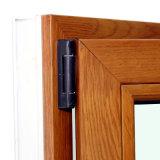 Ventana del marco de aluminio de madera con Multi Lock K03056