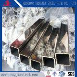装飾的な構築のための磨かれたステンレス鋼の正方形の管