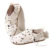 Funny e couro macio Kids Nexo de sapatos de sola de borracha Calçados Oxford