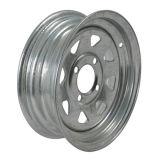 8 оправ колес спицы 4X100 стальных широко используемых для трейлера